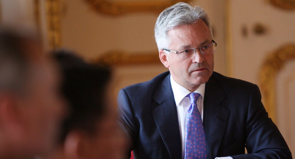 UK Minister for Europe Alan Duncan