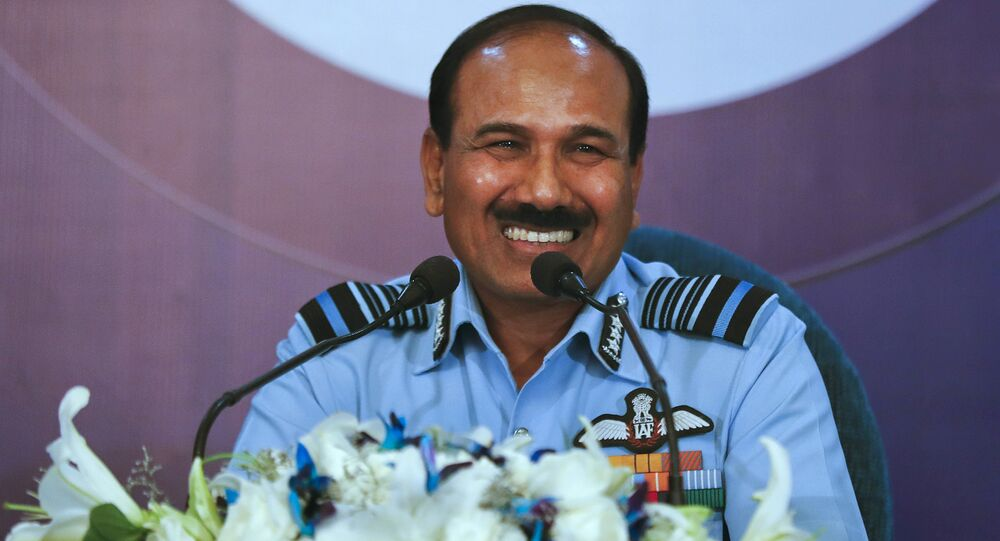 Indian Air Force Chief Air Chief Marshal Arup Raha.