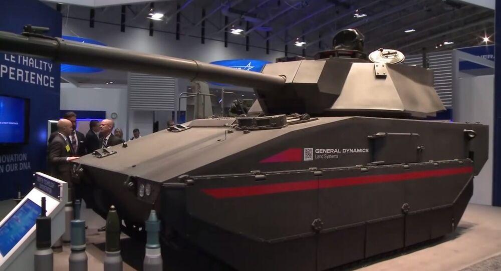General Dynamics Griffin Technology Demonstrator (Tank)
