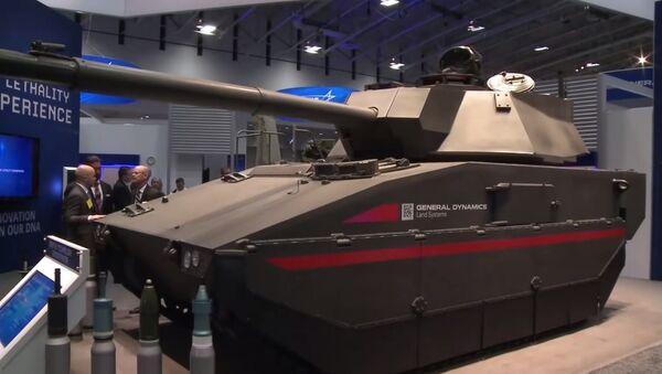 General Dynamics Griffin Technology Demonstrator (Tank) - Sputnik International
