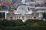 The Reichstag building, house of German parliament Bundestag in Berlin