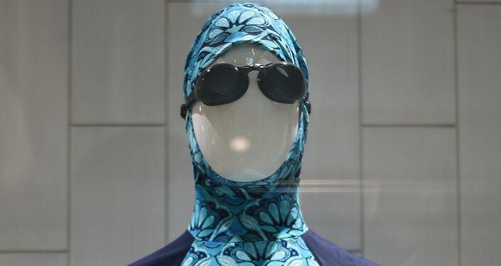 A burkini full-body swimsuit. (File)