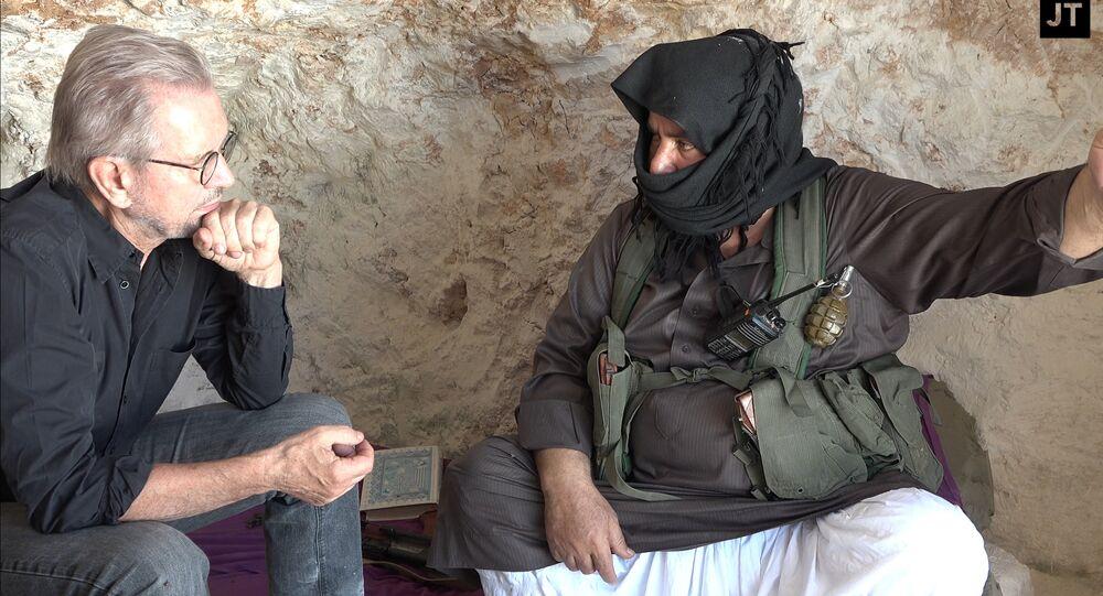 JT und JN Kommandeur während des Interviews
