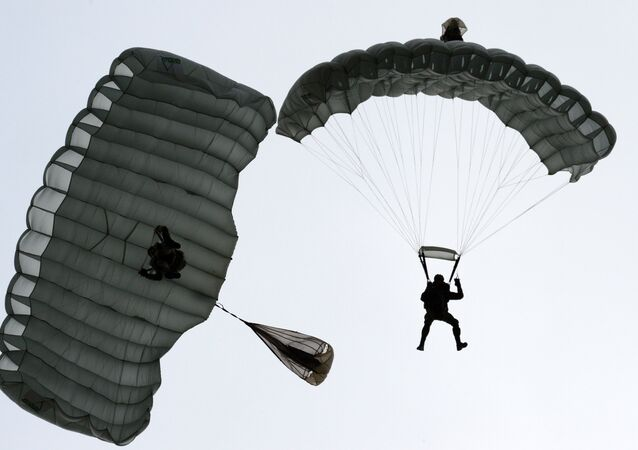 Paratroopers at the Army 2016 International military and technical forum