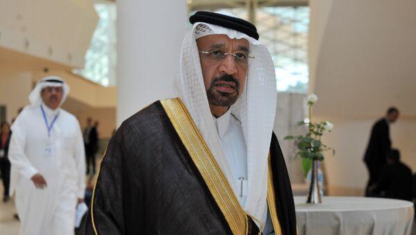 Saudi Arabia's Energy Minister Khalid al-Falih (File) - Sputnik International