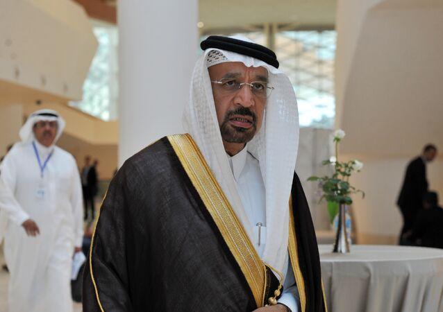 Saudi Arabia's Energy Minister Khalid al-Falih (File)