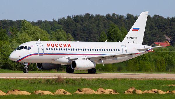 Russia Special Flight Unit Sukhoi Superjet 100-95 (RA-89040) - Sputnik International