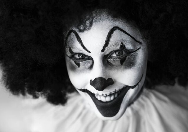 Clown in Make-Up
