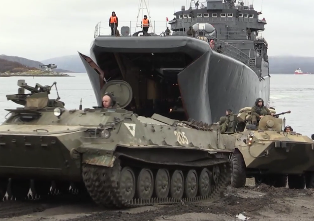 Russia's Northern Fleet Holds Drills in the Arctic