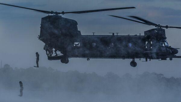 MH-47 Chinook Helicopter (file) - Sputnik International