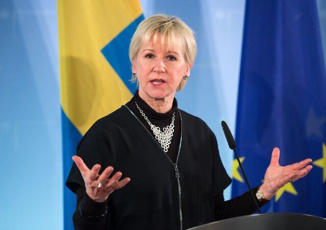Foreign Minister of Sweden Margot Wallstrom.