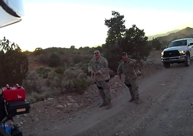 Area 51 Drama: Bikers Riding Near Facility Held at Gunpoint by Men in Camouflage Gear