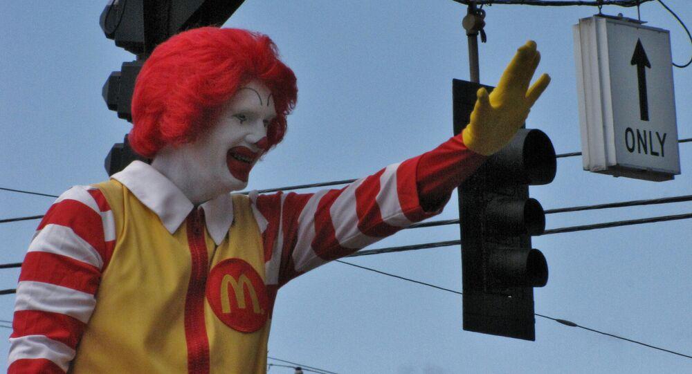 Poor Ronald! Creepy Clown Outbreak Keeping Ronald McDonald Lying Low