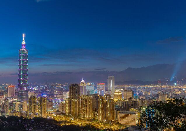 Taipei at Night.