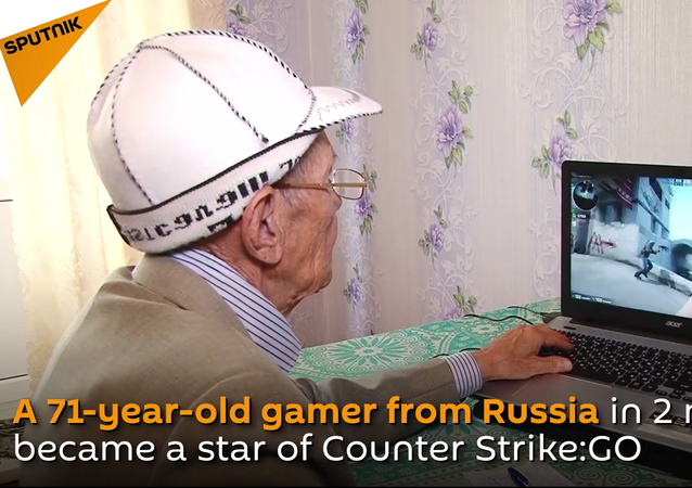 Meet 71-Year-Old Counter-Strike Champ