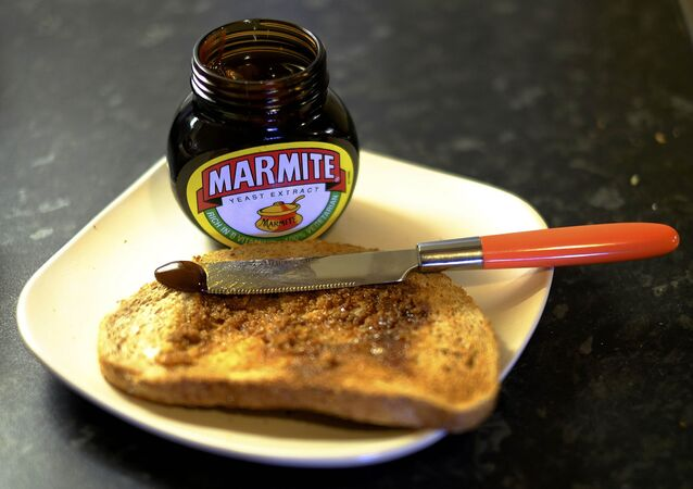 Toast with Marmite sits on a kitchen counter in Manchester, Britain October 13, 2016.