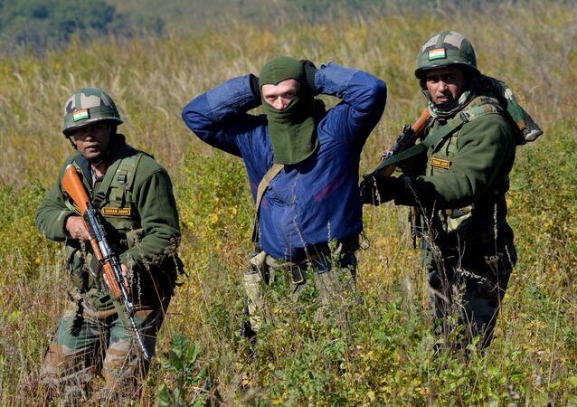 Indra-2016 Russia-India drills in Primorye Territory