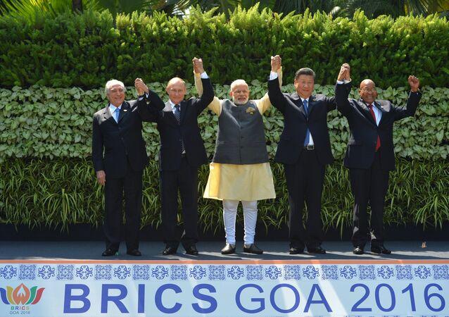 President Putin visits Goa, India. Day Two