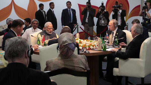 President Putin visits Goa, India. Day Two - Sputnik International
