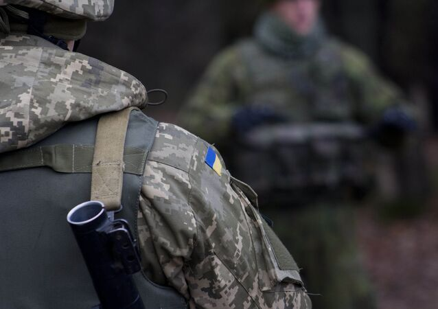 Ukrainian military personnel (File)