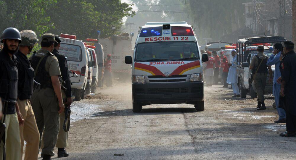 Ambulance in Pakistan (File)