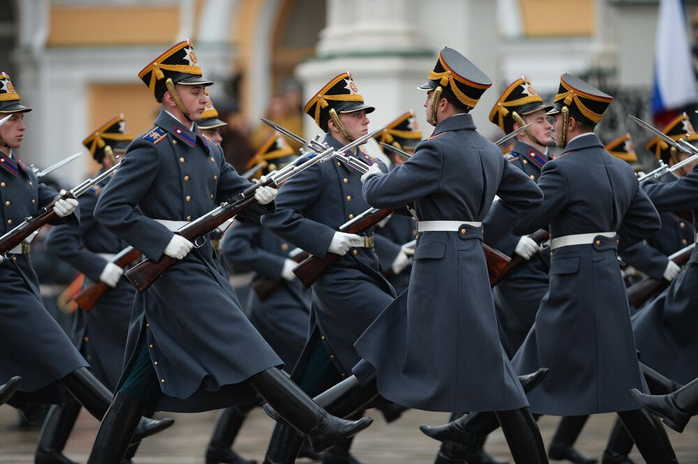 Russian Martial Traditions: Changing the Guard Ceremony in Kremlin