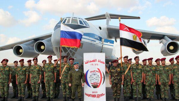 Friendship Defenders 2016 Russia-Egypt anti-terrorism drills - Sputnik International