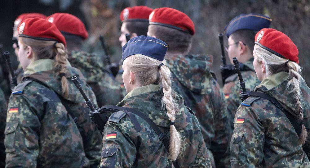 Female soldiers in Diez, Germany (File)
