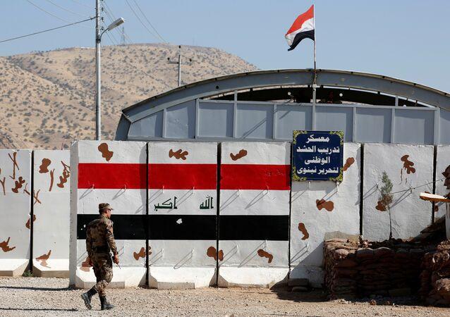 A view of Zalikan Camp in Bashiqa, October 6, 2016