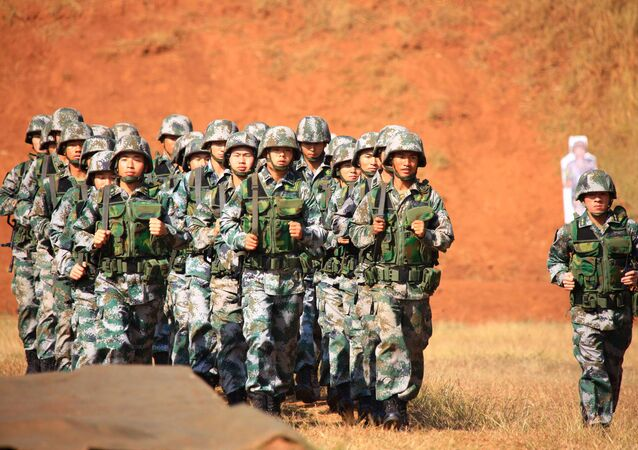 Chinese soldiers. (File)