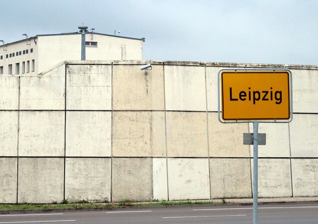 The prison in Leipzig, eastern Germany