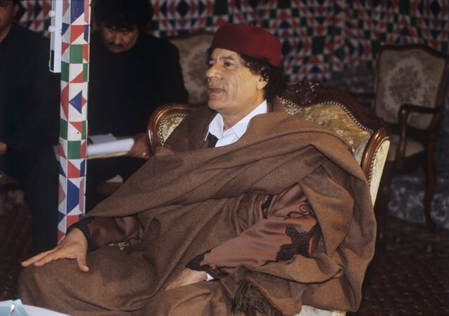 Muammar al-Gaddafi, leader of Libya accorded the honorifics Guide of the First of September Great Revolution of the Socialist People's Libyan Arab Jamahiriya. (File)