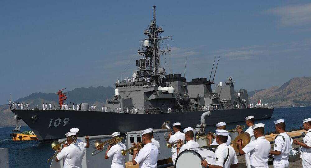 Japanese destroyer JS Ariake