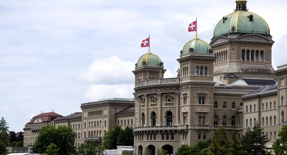 The Federal Palace (Parliament) in Bern, Switzerland. (File)