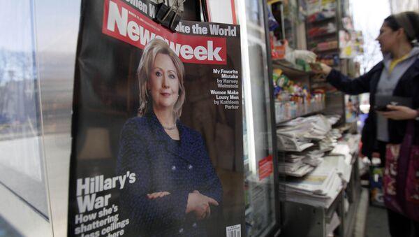 Newsweek Magazine - Sputnik International