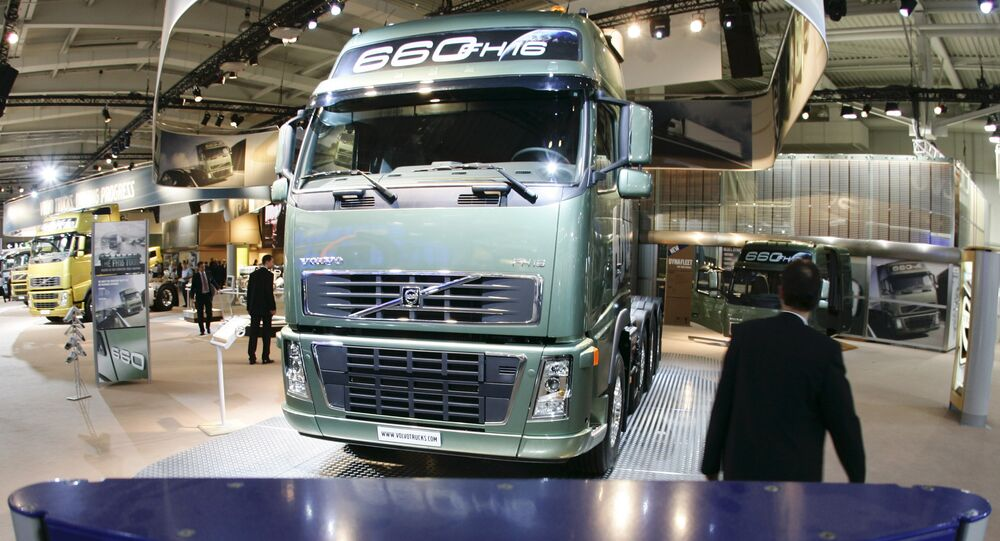 FH16 truck of Swedish company Volvo