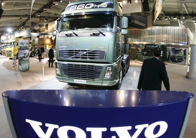 FH16 truck of Swedish company Volvo