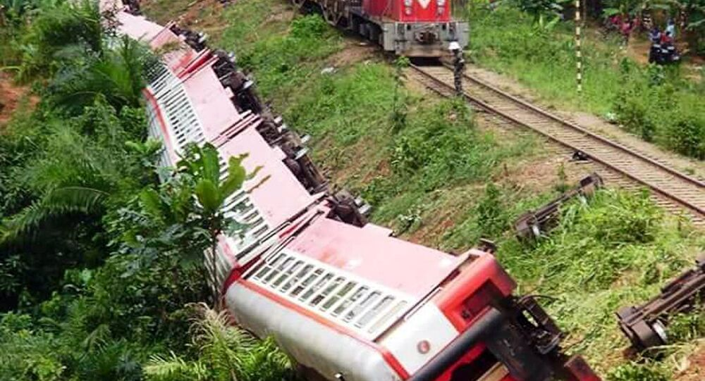 Train Derailment in Cameroon