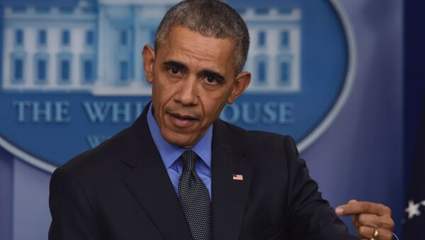 US President Barack Obama holds a press conference in the briefing room at the White House in Washington, DC. (File) - Sputnik International