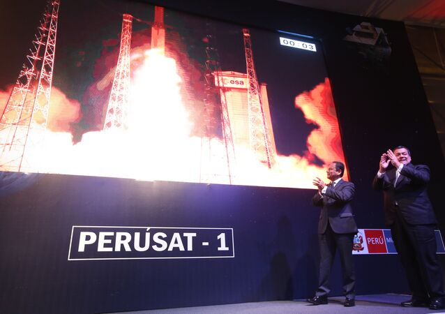 Launch of PeruSat-1. (File)