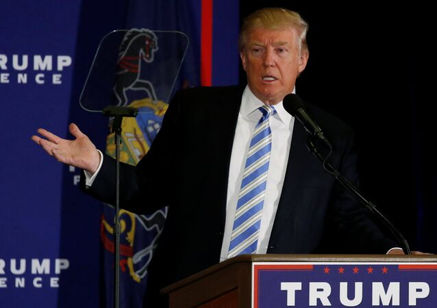 Republican US presidential nominee Donald Trump delivers remarks at a campaign event in Gettysburg, Pennsylvania, U.S. October 22, 2016.