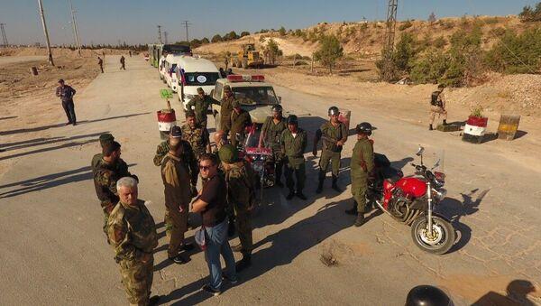 Humanitarian corridor in northern Aleppo - Sputnik International