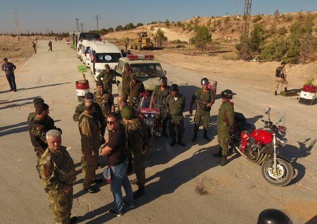 Humanitarian corridor in northern Aleppo