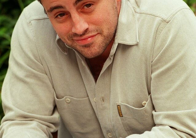 Actor Matt LeBlanc poses for a photo outside the Warner Brothers studio Friday, Oct. 24, 1997 in Burbank, Calif. LeBlanc is one of the six costars of the hit NBC television series Friends.
