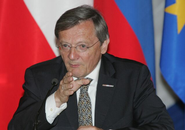 Wolfgang Schuessel. File photo