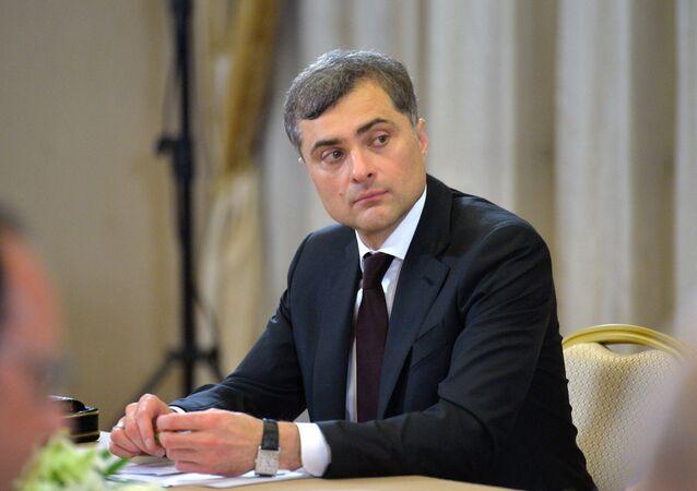 Russian President Vladimir Putin's aide Vladislav Surkov