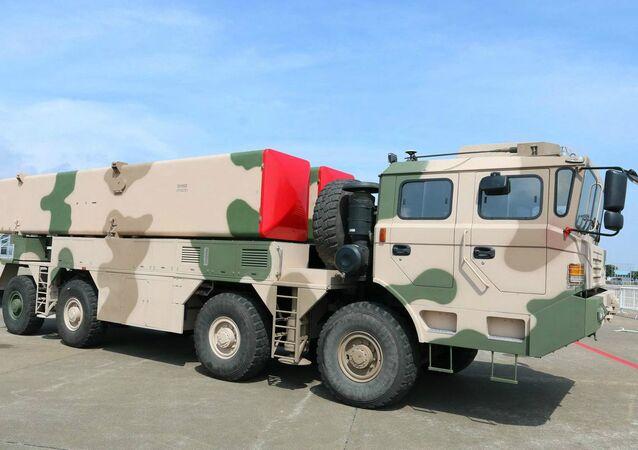 Dongfeng 12 short range ballistic missile system