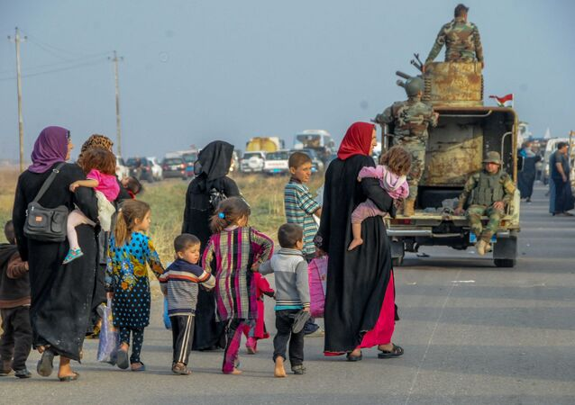 Refugees from Mosul