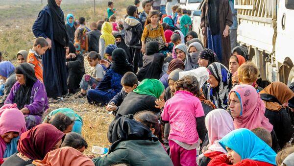 Refugees from Mosul - Sputnik International