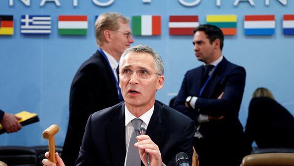 NATO Secretary-General Jens Stoltenberg chairs a NATO defence ministers meeting at the Alliance headquarters in Brussels, Belgium October 27, 2016. - Sputnik International